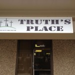 Truth's Place Sign